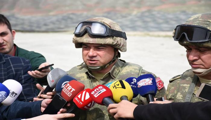 """""""Atatürk-2019"""" hərbi təlimlərinə 1000 nəfər şəxsi heyət cəlb olunub"""