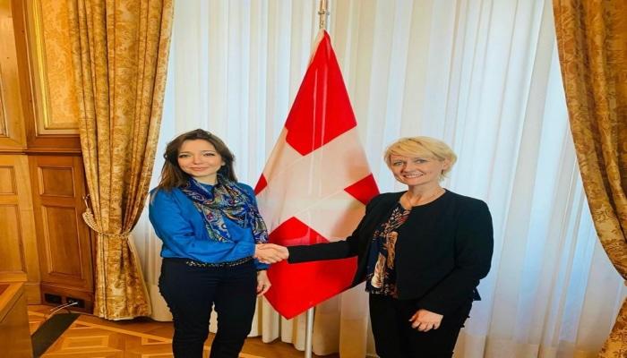 Посол Азербайджана в Швейцарии встретилась с  президентом парламента этой страны
