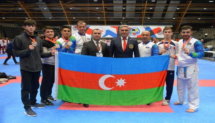 Azərbaycan Avropa çempionatından beş medalla qayıdır