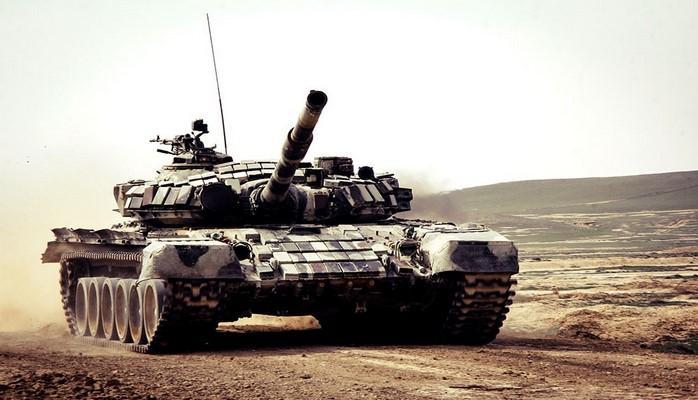 Завершились соревнования за звание лучшей танковой роты