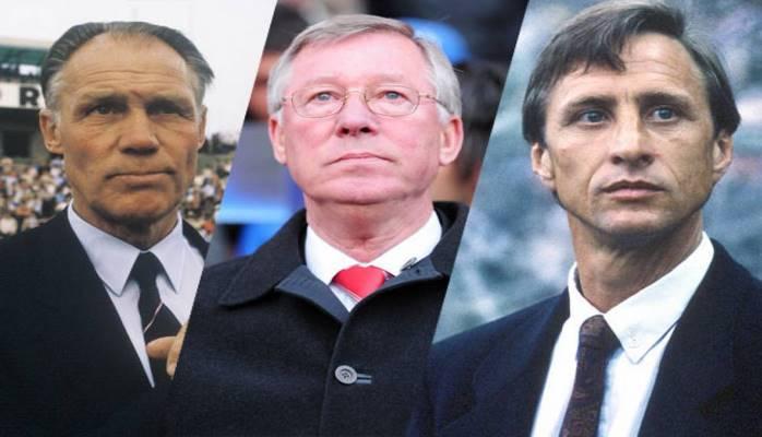 Опубликован список лучших тренеров в истории футбола