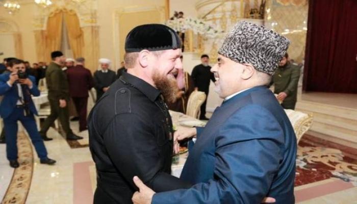 Аллахшукюр Пашазаде встретился с Рамзаном Кадыровым - ФОТО