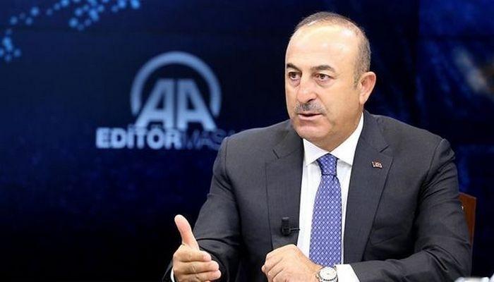 """Çavuşoğlu: """"Ermənistanın Azərbaycana hücumlarına cavab verilməlidir"""""""