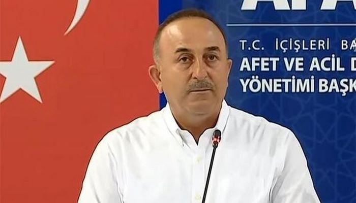 """Çavuşoğlu: """"Sabah Azərbaycandan bir təyyarə, 40 yanğınsöndürən maşın və 150 nəfər şəxsi heyət gələcək"""""""