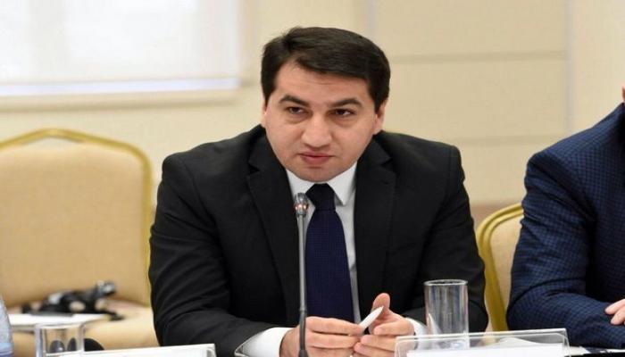 Hikmət Hacıyev: Ermənistan tərəfi provokativ addımlar atır
