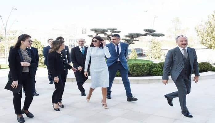Первый вице-президент Азербайджана Мехрибан Алиева встретилась с председателем Сената Италии
