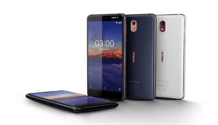 Представлен Nokia 3.1