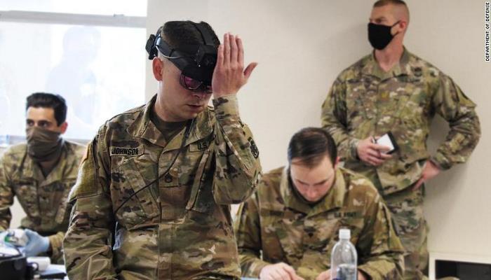 Армия США хочет создать носимое устройство для определения заболевших COVID-19