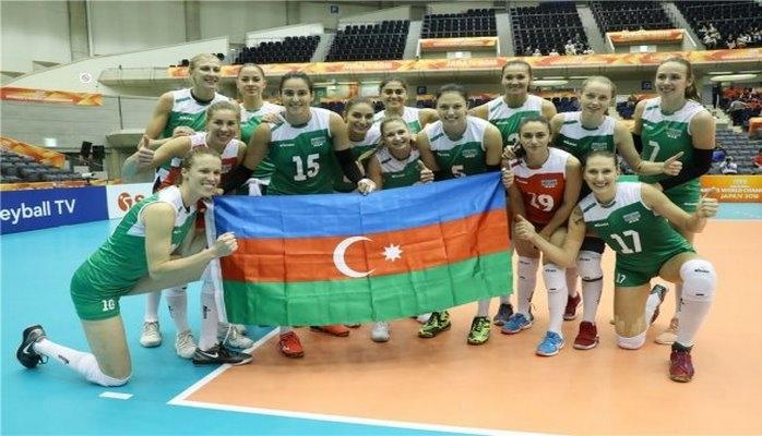 Вторая победа Азербайджана на ЧМ по волейболу