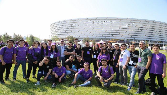 """Bakı Marafonuna 600-dən çox """"BİR"""" tələbə-könüllü dəstək verdi"""