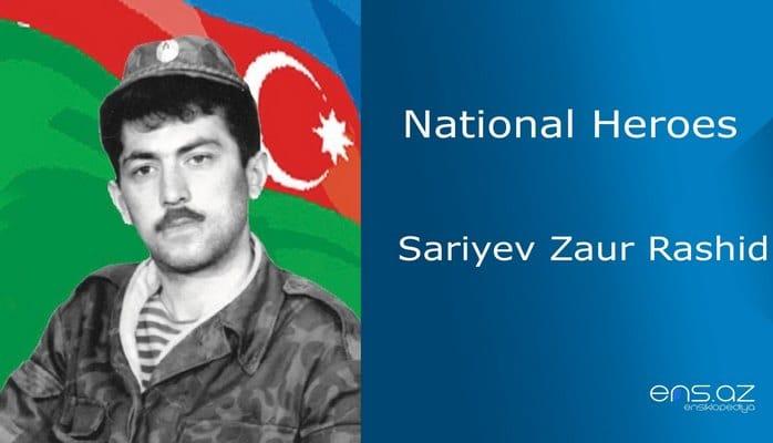 Sariyev Zaur Rashid