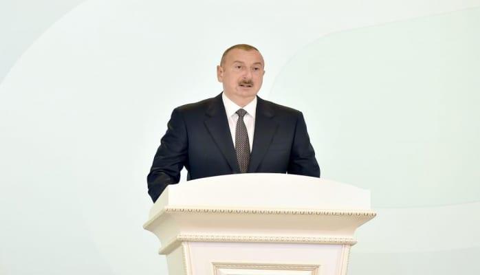 Президент Ильхам Алиев: Сегодня Сумгайыт – это современный, стремительно развивающийся, благоустраивающийся с каждым днем красивый город