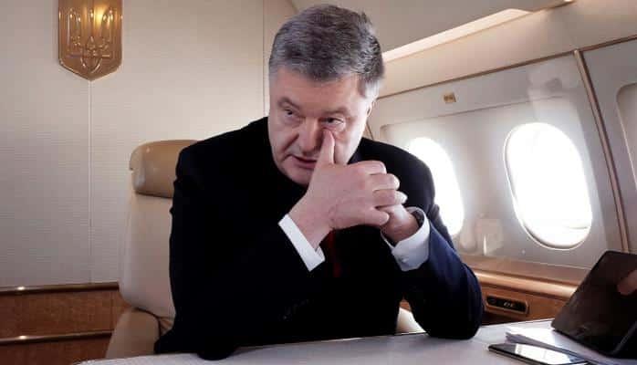 Poroşenko ailəsi ilə birlikdə Ukraynanı tərk edib