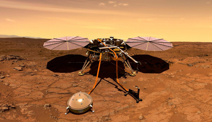 В Китае испытали аппарат для посадки на Марс