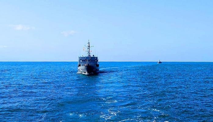 Azərbaycan Hərbi Dəniz Qüvvələri taktiki təlim keçirir