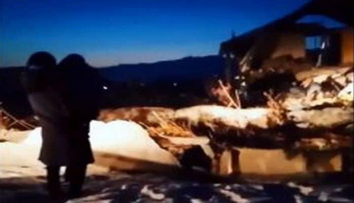 Появились первые кадры авиакатастрофы в Алматы