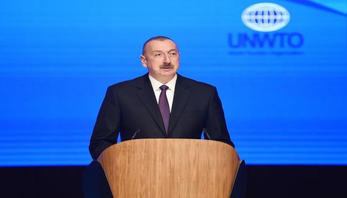 Президент Ильхам Алиев: Наша история и география свидетельствуют о том, что мы можем добиться успеха только в духе партнерства и взаимного уважения