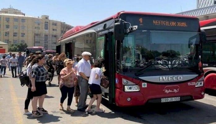 Şad xəbər : Bu şəxslər avtobuslardan pulsuz istifadə edəcək
