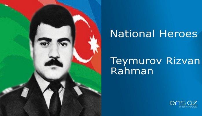Teymurov Rizvan Rahman