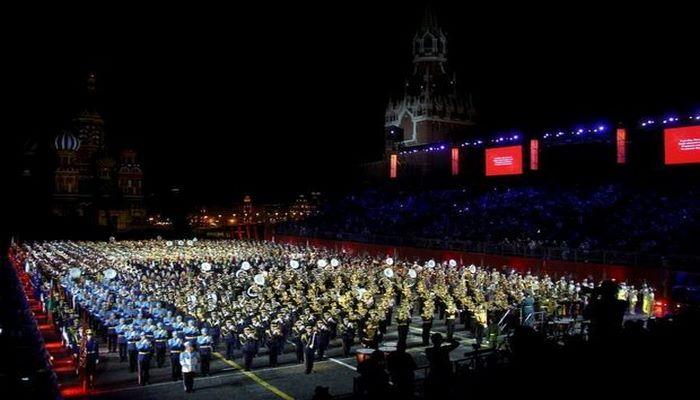 Военный оркестр Азербайджана участвует в международном военно-музыкальном фестивале