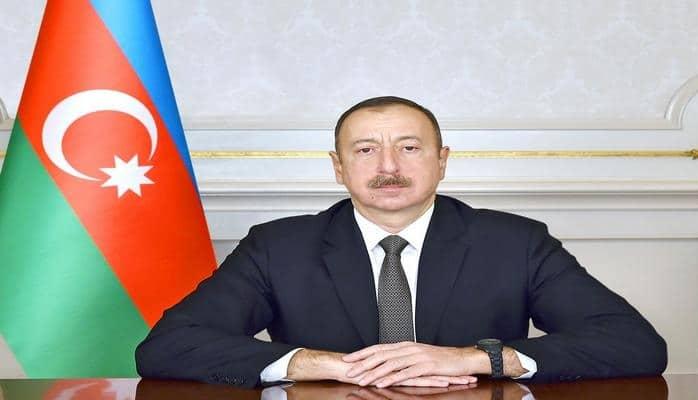 Prezident Ağdamda Quzanlı-İmamqulubəyli-Orta Qərvənd-Xındırıstan avtomobil yolunun açılışında iştirak edib