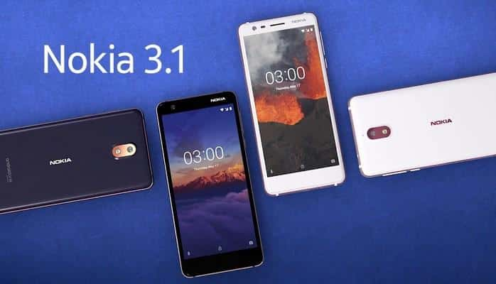 """Yeni """"Nokia 3.1"""" smartfonu təqdim edilib"""