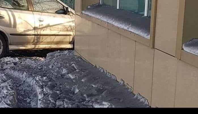 Qazaxıstanın Temirtau şəhərinə qara qar yağıb