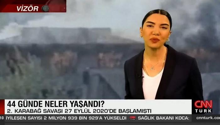 CNN Türk İkinci Qarabağ müharibəsi ilə bağlı sənədli film hazırlayıb