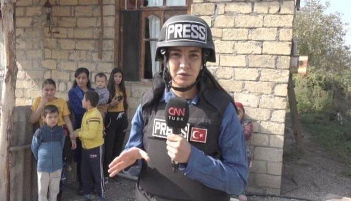 """""""CNN Türk""""ün xanım əməkdaşı Azərbaycanla bağlı xatirələrini paylaşdı"""