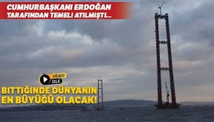 Cumhurbaşkanı Erdoğan tarafından temeli atılmıştı... Bittiğinde dünyanın en büyüğü olacak!