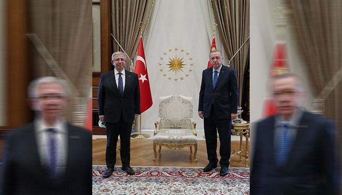 Cumhurbaşkanı Erdoğan, Yavaş ile 'Ankara'yı görüştü