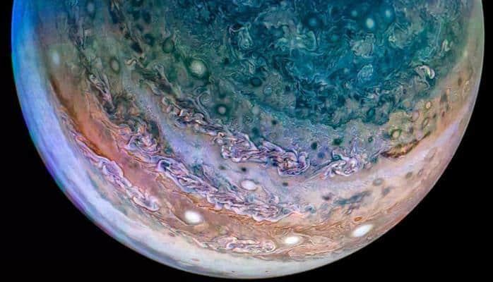NASA, Jüpiter'deki şimşeklerin sırrının çözüldüğünü açıkladı
