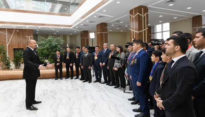 Prezident İlham Əliyev: Bu il əlavə iki Olimpiya İdman Kompleksinin açılışı gözlənilir