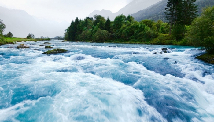 В результате дождей в большинстве рек страны повысился уровень воды