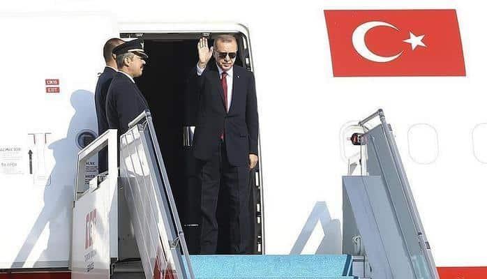 Президент Эрдоган отбыл в Тегеран