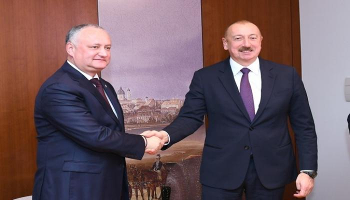 Moldovanın dövlət başçısı Azərbaycan Prezidentini təbrik edib