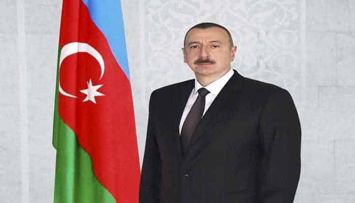 Президент Ильхам Алиев наблюдает соревнования Чемпионата мира по дзюдо