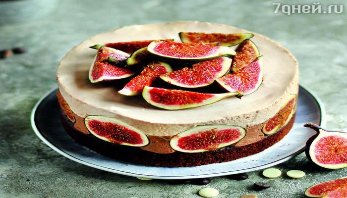 Торт «Два шоколада» с инжиром: рецепт изысканного лакомства