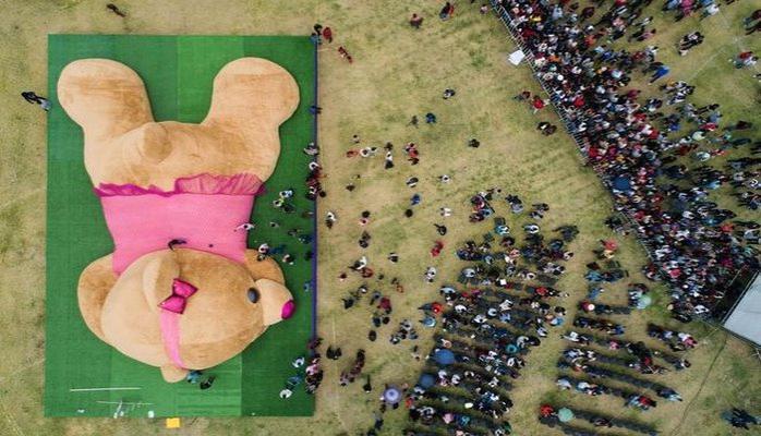 Dünyanın ən böyük oyuncağı böyük marağa səbəb oldu
