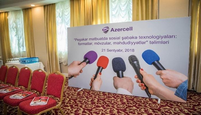 Azercell Telekom организовал семинар для журналистов