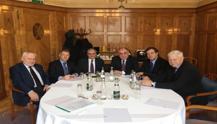 Встреча глав МИД Азербайджана и Армении проходит в Женеве