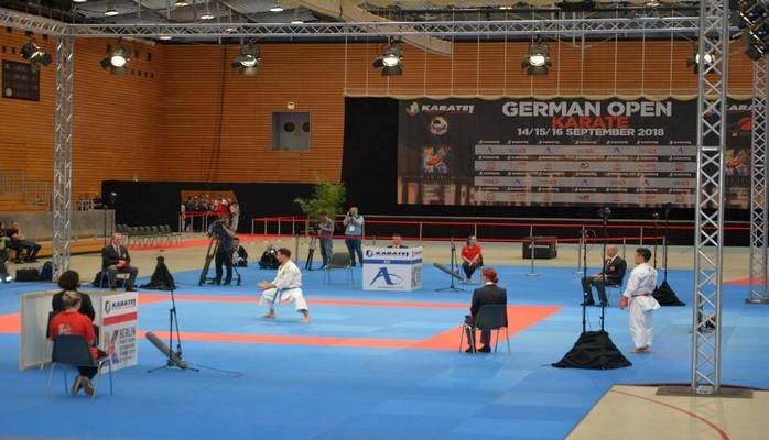 Сегодня наша сборная по карате будет вести борьбу за 4 медали