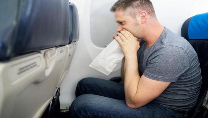 Как бороться с укачиванием в самолете