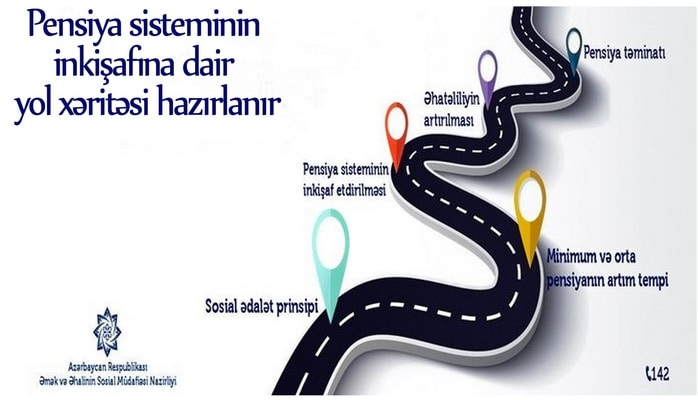 Pensiya sisteminin inkişafına dair yol xəritələri hazırlanır