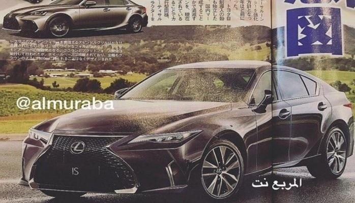 Новый Lexus ISбудет выглядеть воттак