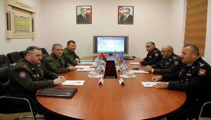 Belarusun hərbi ekspertləri Azərbaycana gəlib