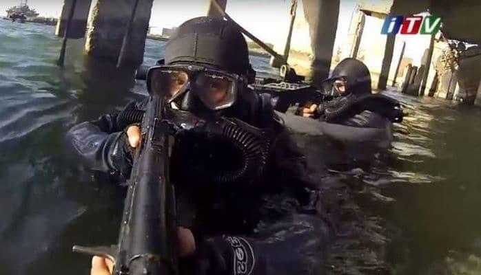 Подготовка азербайджанского спецназа
