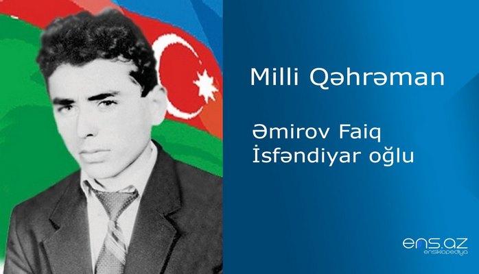Faiq Əmirov İsfəndiyar oğlu