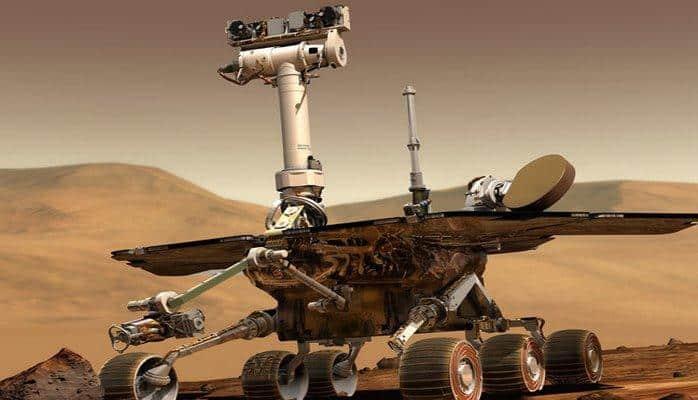 На Марсе нашли потерянный ровер Opportunity