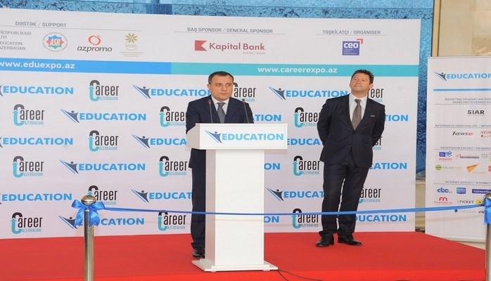 В Баку открылась XII Азербайджанская международная выставка образования
